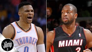 Russell Westbrook should call Dwyane Wade for advice after Rockets trade - Dave McMenamin   The Jump