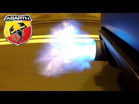 Let's Make my Abarth 500 Shoot FLAMES! ? [Sub ENG]