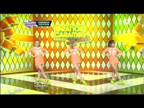 오렌지캬라멜_립스틱 (Lipstick by Orange Caramel @Mcountdown 2012.09.13)