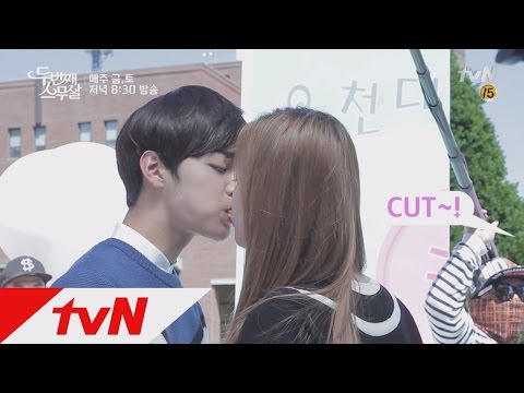 Second 20s Son Na-eun♥Kim Min-jae sweet festival scene behind! Second 20s Ep11