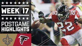 Saints vs. Falcons | NFL Week 17 Game Highlights