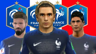 FRANCE 2018 - All Players 100 - Dream League Soccer 2018 - FIFA WORLD CUP RUSSIA 2018