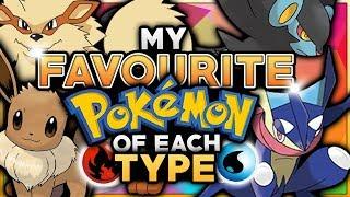 Top Pokemon of Each Type