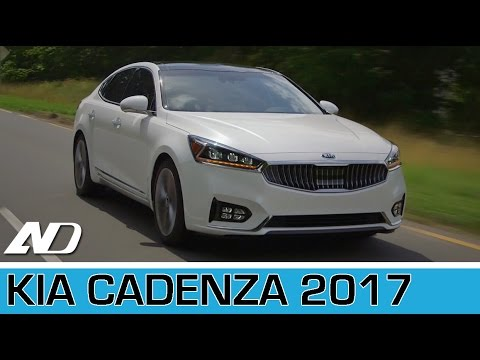 Kia Cadenza 2017 - Primer vistazo desde Virginia