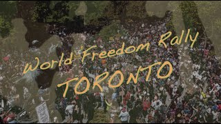 World Freedom Rally - TORONTO