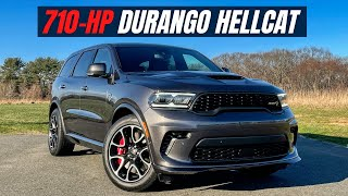2021 Dodge Durango Hellcat In-Depth Review - A FAST 710-hp SUV