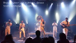 Brass Against Live In Athens, Greece