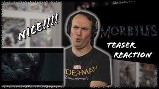 MORBIUS - Teaser Trailer REACTION