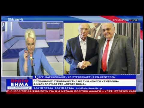 'Αγγελος Μαρκόπουλος στο Start TV κέρκυρας (22-5-2019)