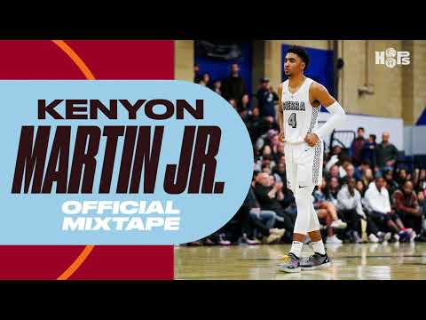 Houston Rockets Select Kenyon Martin Jr.  with the No. 52 Pick in NBA Draft | B/R Hoops Mixtape