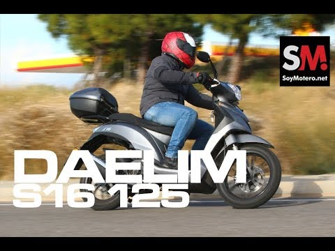 DAELIM S16 FI 125 2018: PRUEBA SCOOTER 125 [FULL HD]
