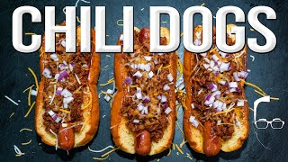 THE BEST CHILI DOG I'VE EVER MADE   SAM THE COOKING GUY 4K