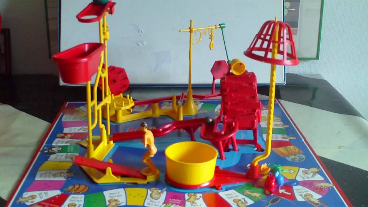 Mouse Trap Game Milton Bradley Youtube