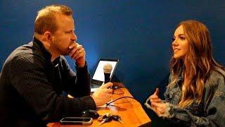 Danielle Bradbery Hangs Backstage and Talks 'I Don't Believe We've Met'