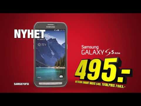 Uke 51 - Samsung Galaxy S5 active + Electrolux håndstøvsuger