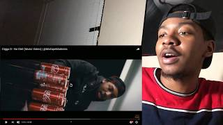 AMERICAN REACTS TO Digga D - No Diet (Music Video) | @MixtapeMadness