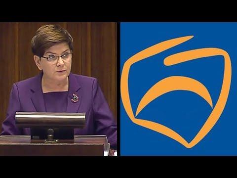Premier w mocnym przemówieniu wyciągnęła i przypomniała wszystkie brudy Platformy Obywatelskiej
