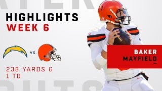 Baker Mayfield Highlights vs. Chargers