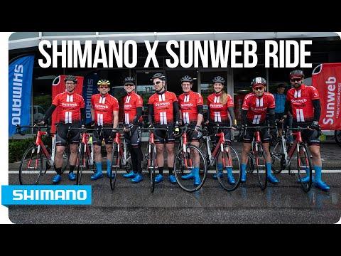 Shimano x Sunweb ride at the Giro d'Italia | SHIMANO