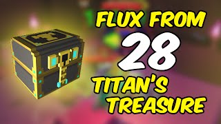 Opening 28 Titan's treasure
