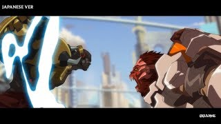 [ENG vs JAP] Doomfist Overwatch Animated Trailer | What is better ?