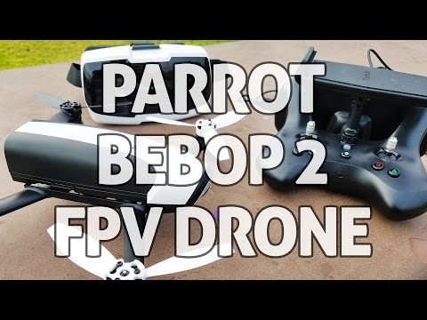 video Parrot Bebop 2 FPV