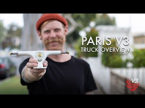 Video PARIS Truck RKP V3 165mm Polished [x2]
