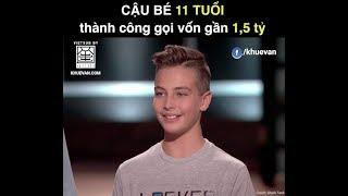 Shark Tank Vietsub  Cậu bé 11 tuổi gọi vốn thành công gần 1.5 tỷ