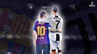 Cristiano Ronaldo VS Lionel Messi 2018/19 | Who is better ? | Crazy Skills, Assists & Goals | HD