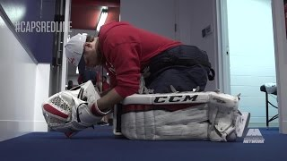 Braden Holtby's All Access Pre-Game Preparation