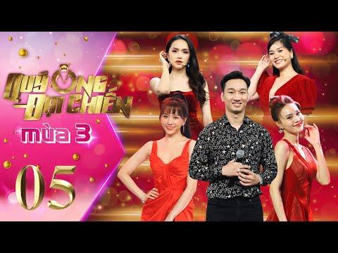 Quý Ông Đại Chiến Mùa 3 | #5: Hương Giang kinh ngạc nhìn MC Thành Trung 1 mình đánh bại dàn cực phẩm