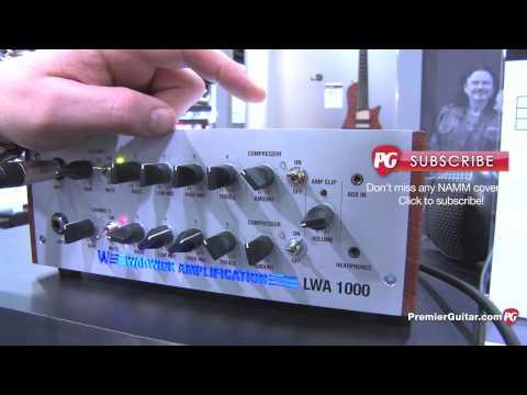 NAMM '13 - Warwick LWA1000 Bass Amp & Streamer Stage I Bass Demos