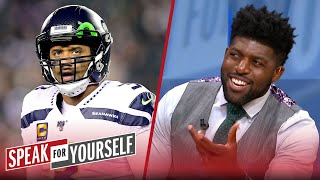 Emmanuel Acho reacts to Russell Wilson being critical of the Seahawks' offense | SPEAK FOR YOURSELF