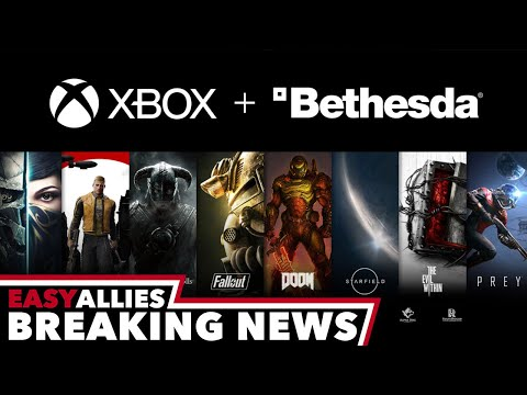 Microsoft Buys Bethesda - Breaking News - Easy Allies