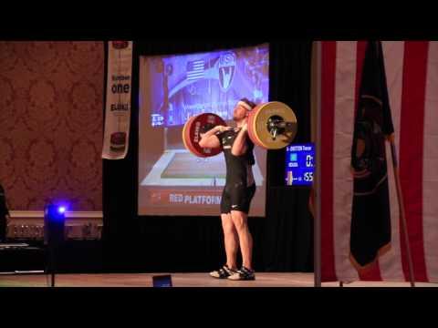 Trevor Britton 85kg | 2014 USAW National Championships