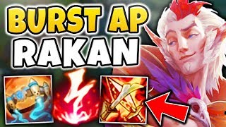 THIS RAKAN BUILD IS ONE-SHOTTING PRO PLAYERS?! WHAT MAKES IT SO STRONG?! - League of Legends