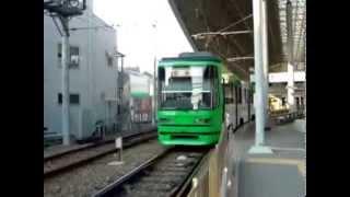 2042854 広島電鉄・西広島より宮島へ。