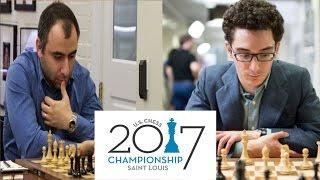 Ván cờ gây chấn động làng cờ vua Mỹ: Varuzhan Akobian vs Fabiano Caruana /US Championship 2017
