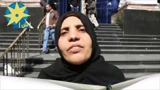 بالفيديو : وقفة امام نقابة الصحفيين لاهالى الاطفال المخطوفين فى مصر
