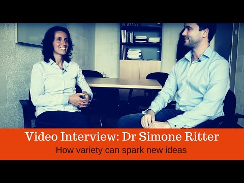 Dr Simone Ritter interview with Nick Skillicorn improvides