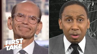 Paul Finebaum says Stephen A. & Max Kellerman are 'dead wrong' about Clemson's CFP bid | First Take