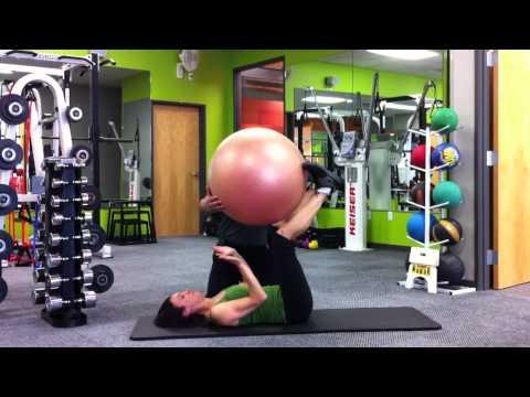 Reflexive Core Training Exercise Example