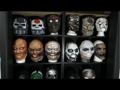 INSANE Slipknot Mask Collection!