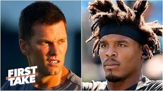 Tom Brady vs. Cam Newton: Which QB is under more pressure this season? | First Take
