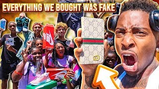 FAKE IT TILL YOU MAKE IT SHOPPING SPREE!! (WONT BELIEVE WHAT WE BOUGHT)