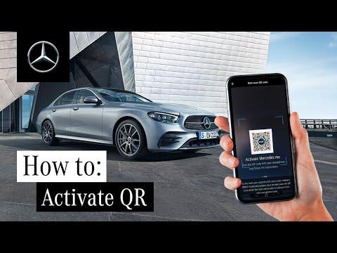 How to Activate Mercedes me via QR Code