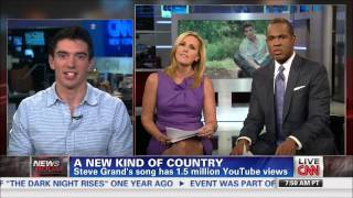 Steve Grand CNN Interview
