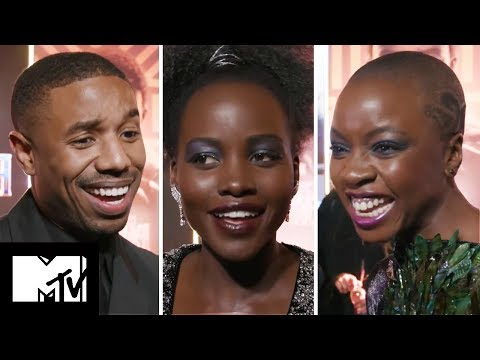 How Well Do The BLACK PANTHER Cast Really Know Each Other?   MTV Movies