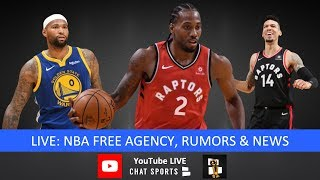 NBA Free Agency Latest On NBA Now With Jimmy Crowther & Tom Downey  (July 2nd)