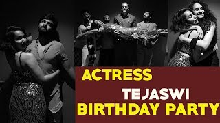 Viral: Actress Tejaswi Madivada birthday celebrations in C..